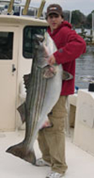 92 Pound Striped Bass