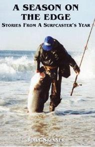 Striped bass surf fishing books for John skinner fishing