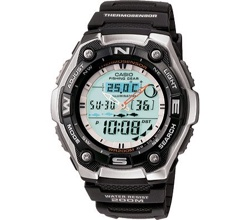 Casio Watch With Thermometer