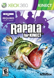 Video Game - Rapala for Kinect Xbox 360