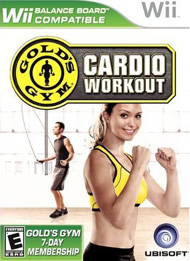 Gold's Gym Cardio Workout - for Wii
